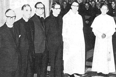 Paul VI-Montini & Protestant 'New' Mass Commission