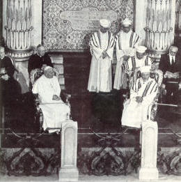 JP II & Chief Rabbi