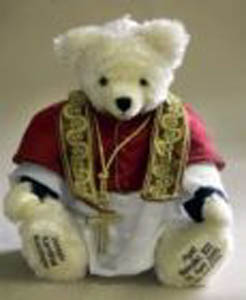 Papal Teddy Bear