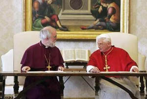 Rowan Williams & Benedict-Ratzinger