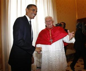 Barack Obama and Benedict-Ratzinger