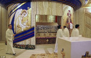 Padre Pio's New Tomb
