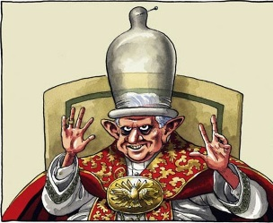 Benedict-Ratzinger Cartoon