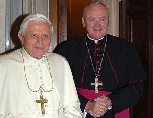 Benedict-Ratzinger and John Magee
