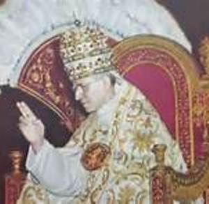 Pope Pius XII on Throne
