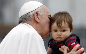 Francis-Bergoglio y el Niño