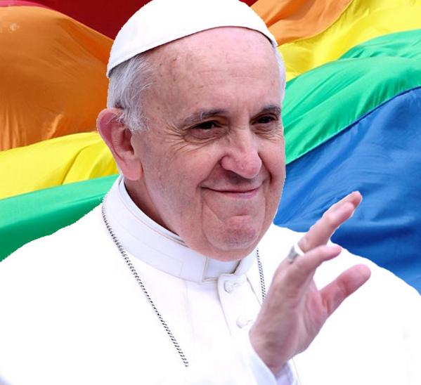 Francis-Bergoglio y Gay Flag
