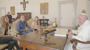 Belgian Young People & Francis-Bergoglio