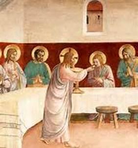Cristo Comunión Dar