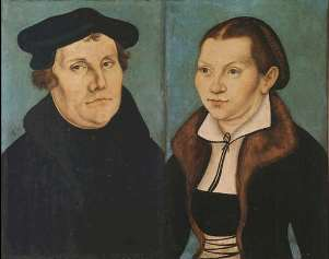 Martin Luther and Wife