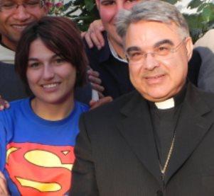 Supergirl y Marcello Semeraro