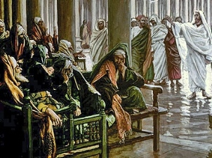 Christ Condemns the Pharisees