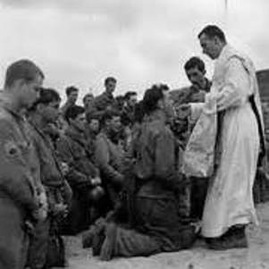 Traditional Latin Mass on Omaha Beach