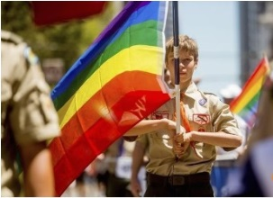 A Transgendered Boy Scout