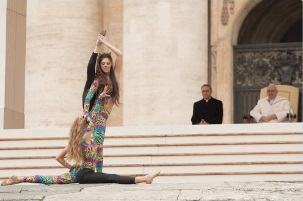Francis-Bergoglio and Belly Dancers