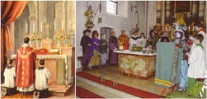 Traditional Latin Mass vs. New Mess