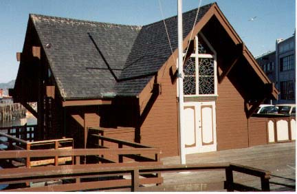 Chapel Exterior before October 2006