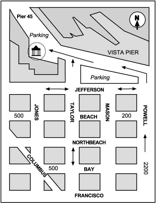 Oratory Map